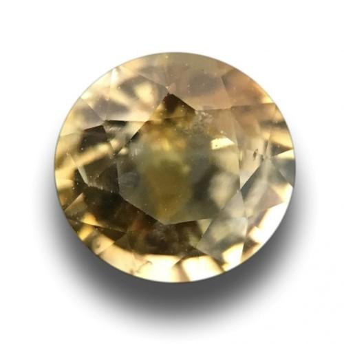 1.03 Carats| Natural Unheated Yellow Sapphire|Loose Gemstone|Sri Lanka-New