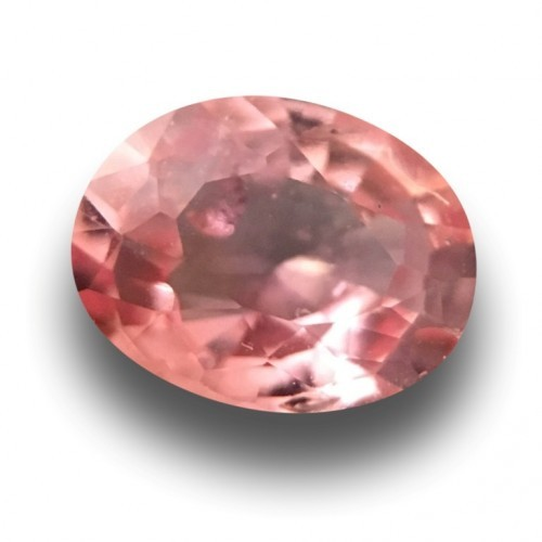 1.01 Carats Natural Pink orange padparadscha |Loose Gemstone|Certified| Sri Lanka