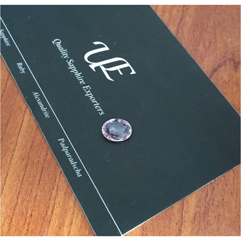 1.46 Carats|Natural Unheated Pink Sapphire|Loose Gemstone|Sri Lanka - New