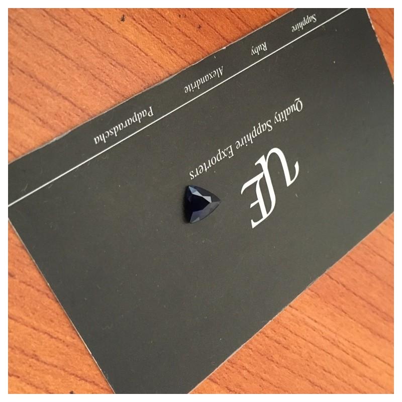1.25 Carats Natural Unheated Deep Royal Blue Sapphire Sri Lanka-New