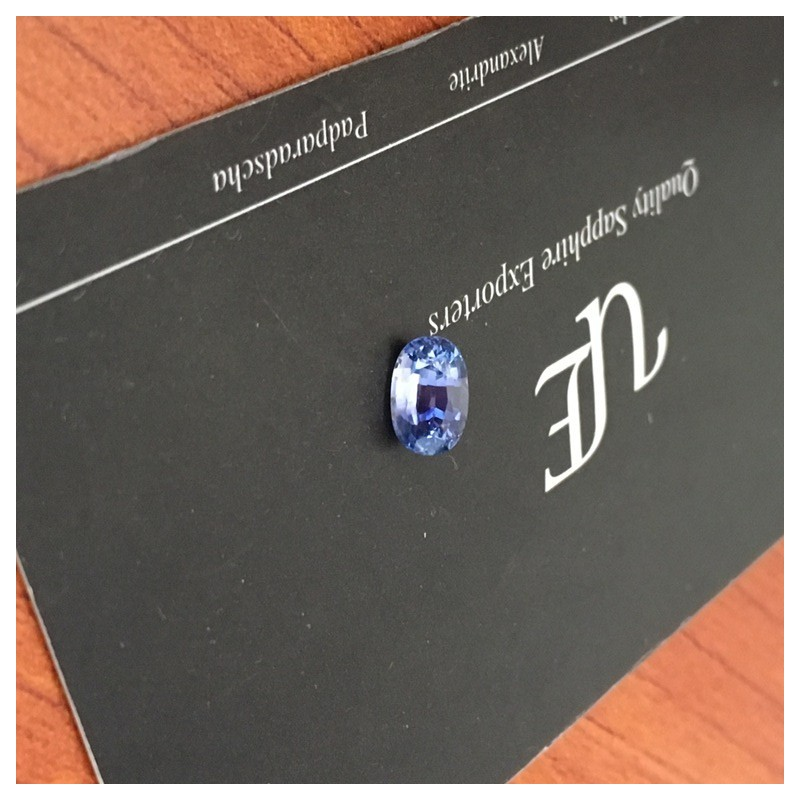 1.30 Carats| Natural Blue Sapphire |Loose Gemstone | Sri Lanka - New