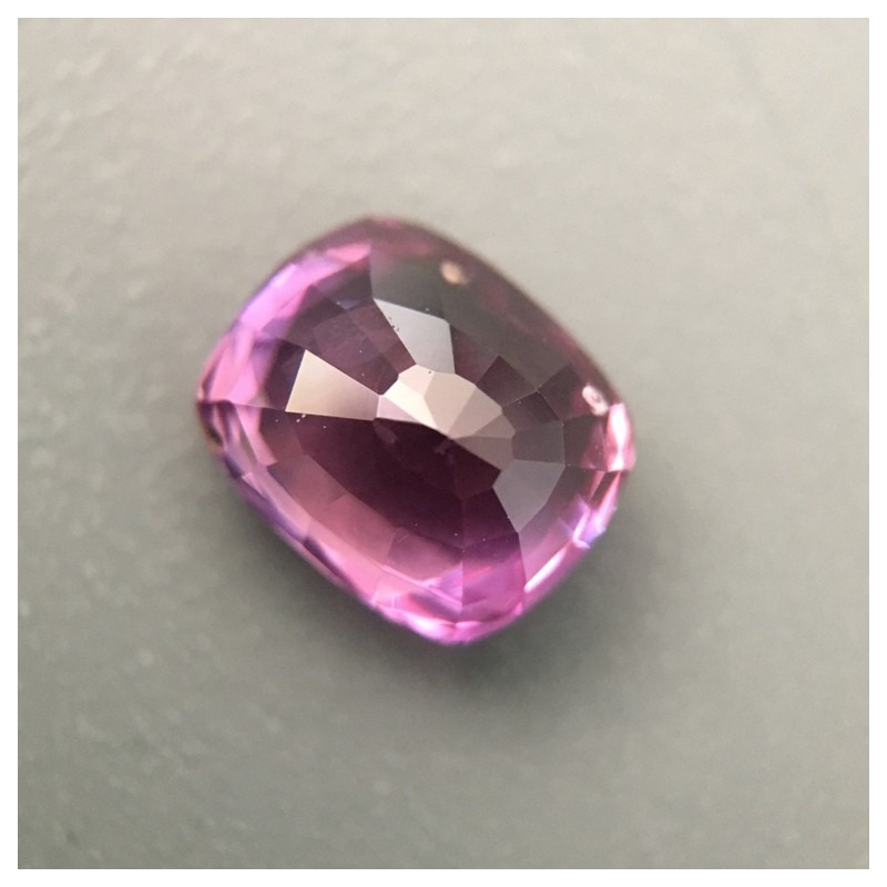 1.58 Carats Natural Pink sapphire |Loose Gemstone|New Certified| Sri Lanka