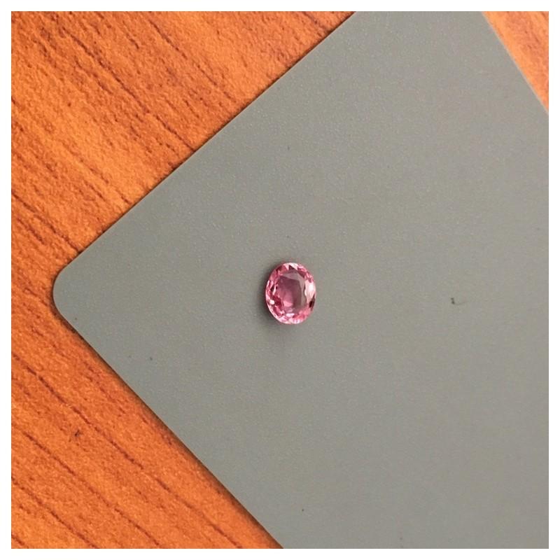 0.86 Carats   Natural Pink Sapphire  Loose Gemstone Sri Lanka - New