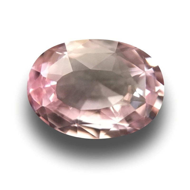 1.3 Carats Natural Pink sapphire |Loose Gemstone|New Certified| Sri Lanka