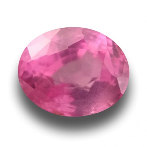 1.01 Carats | Natural Pink Sapphire |Certified | Loose Gemstone | - New