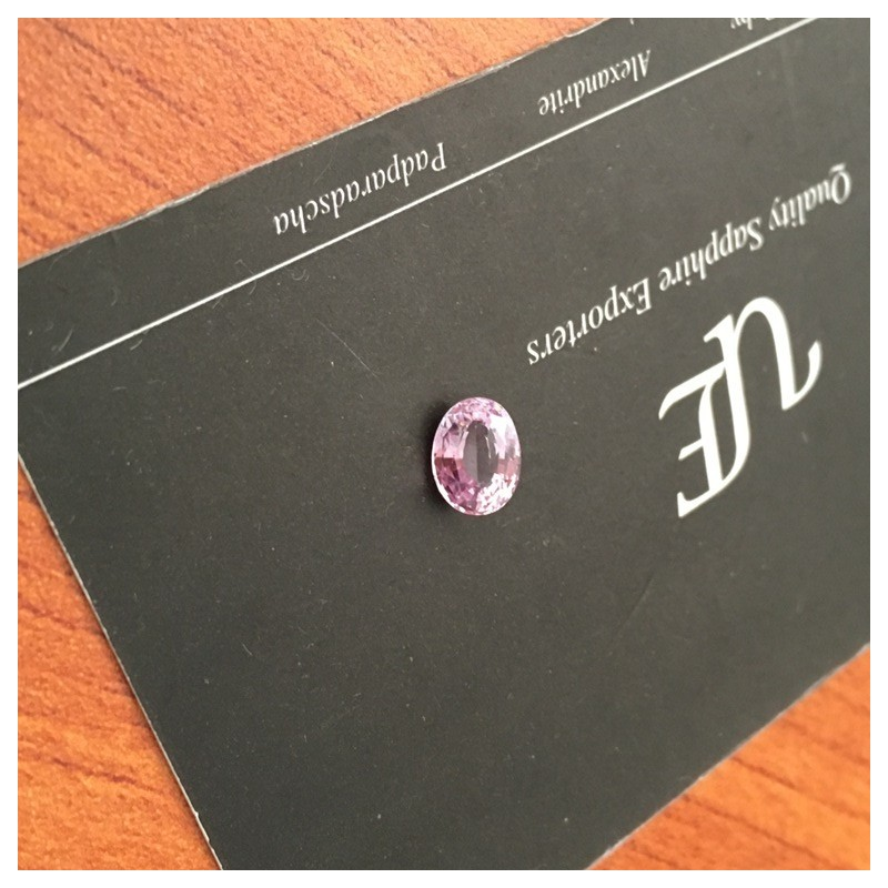 1.22 Carats Natural unheated Pink sapphire |Loose Gemstone|New Certified| Sri Lanka