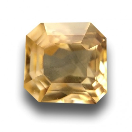1.73 Carats|Natural Unheated Yellow Sapphire|Loose Gemstone|Sri Lanka - New
