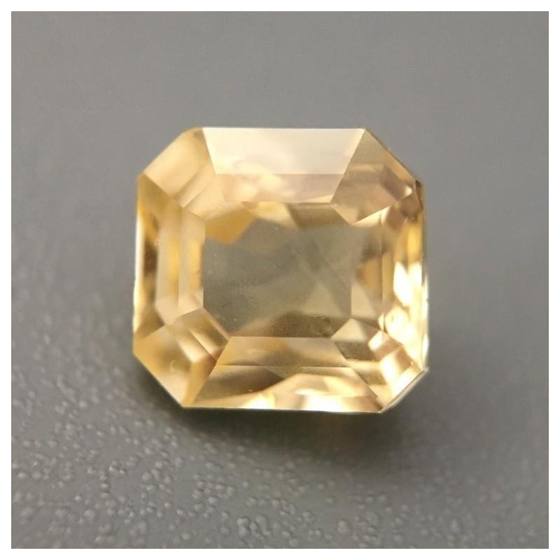 1.73 Carats Natural Unheated Yellow Sapphire Loose Gemstone Sri Lanka - New