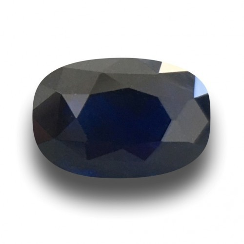 2.42 Carats Natural Dark Royal Blue sapphire |Loose Gemstone|Certified| Sri Lanka