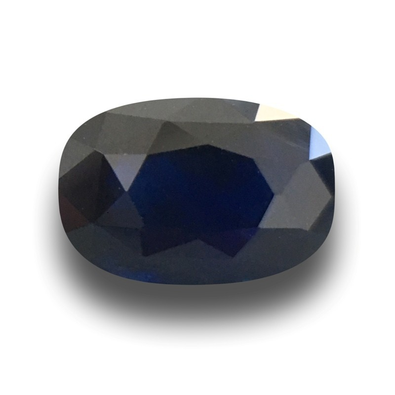 2.42 Carats Natural Dark Royal Blue sapphire |Loose Gemstone|Certified| Sri Lanka