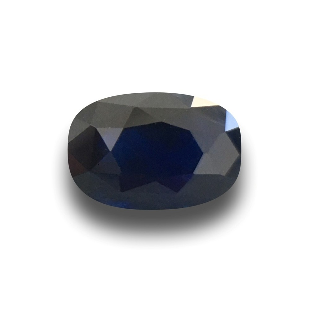 gemstone shape pear loose royal sapphire blue certified grs itm
