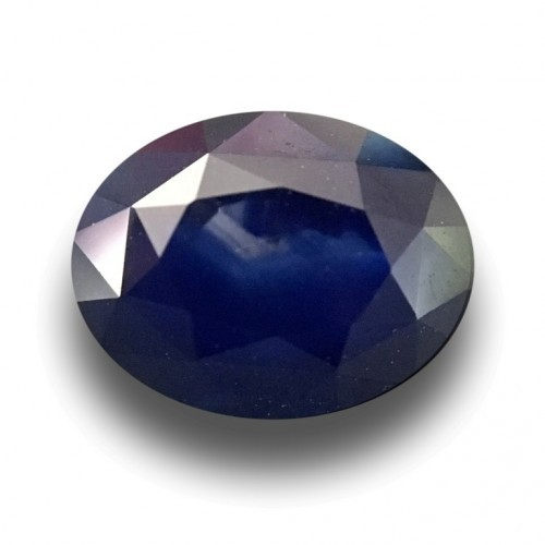 1.59 Carats Natural Dark blue sapphire |Loose Gemstone|New Certified| Sri Lanka