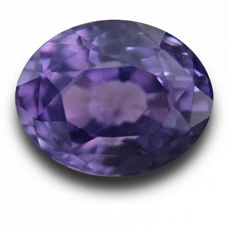 1 48 Carats Natural Violet Sapphire Loose Gemstone New Sri Lanka