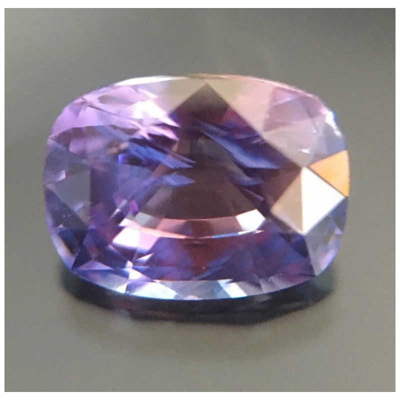 1.20 Carats  Natural violet sapphire Loose Gemstone New Sri Lanka