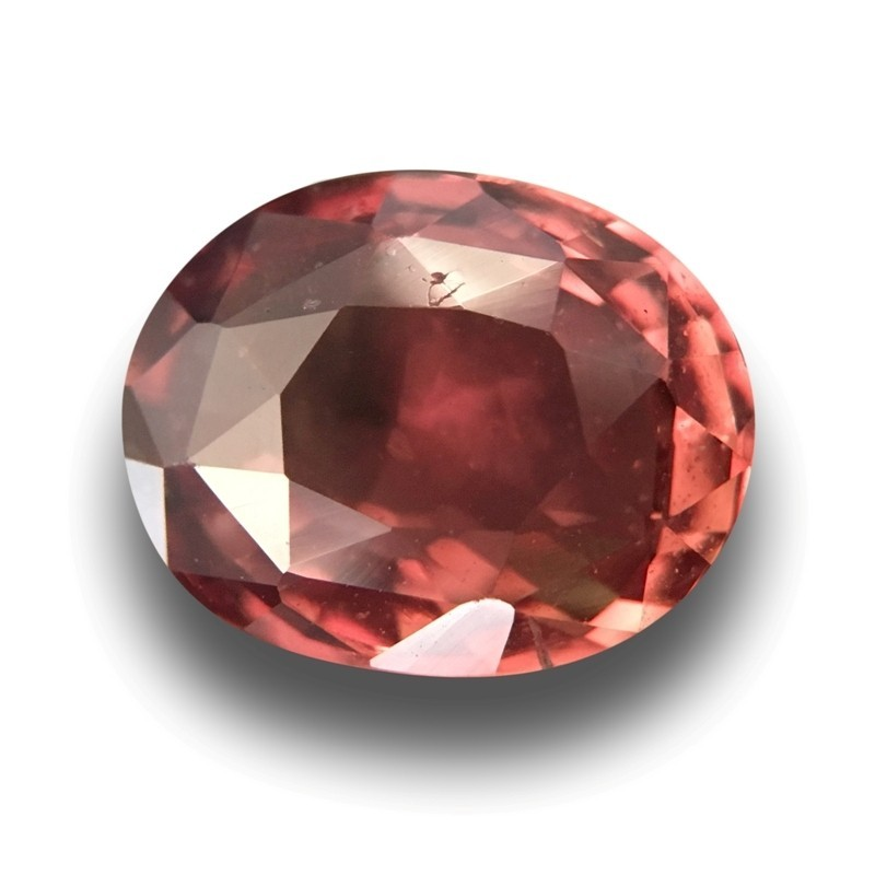 1.61 Carats Natural Orange / pink / brown sapphire |New Certified| Sri Lanka