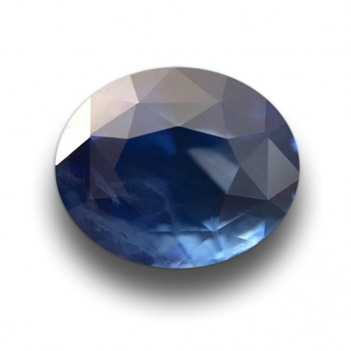 2.07 Carats Natural Blue Sapphire |Loose Gemstone|New Certified| Sri Lanka