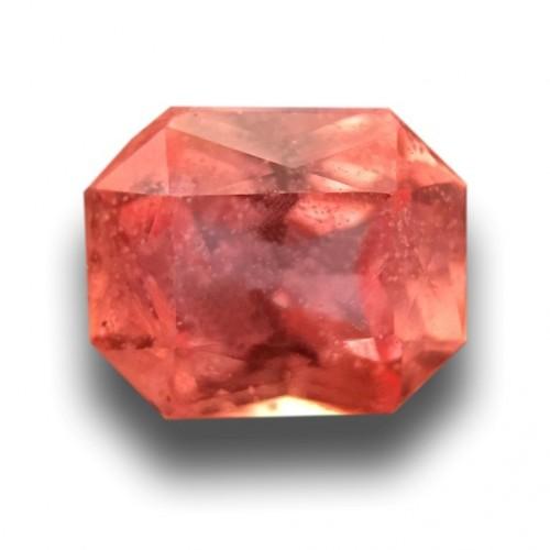 0.57 Carats|Natural Padparadscha|Loose Gemstone|Sri Lanka - New