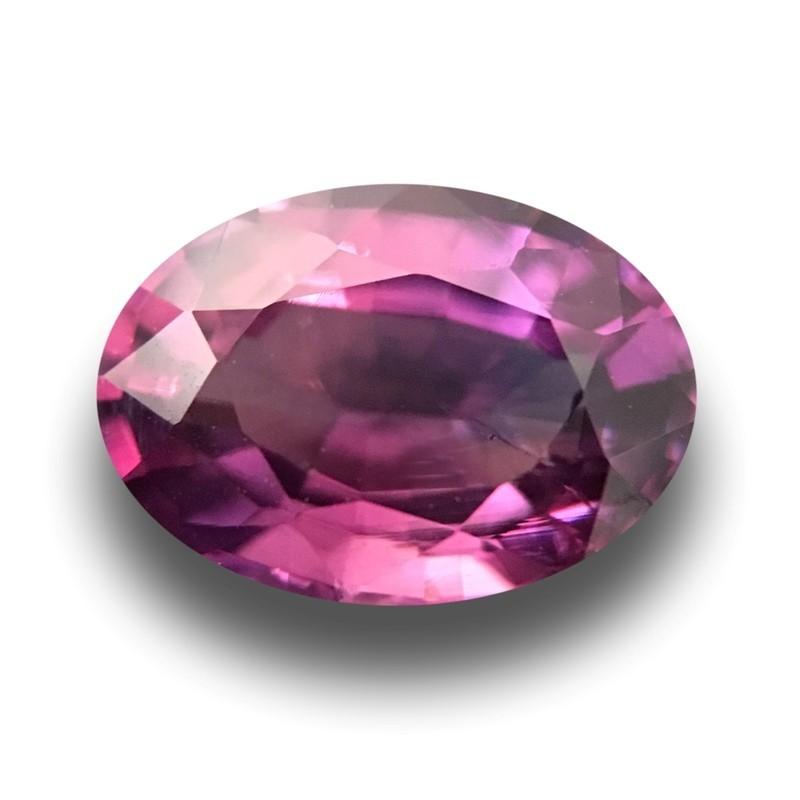 0.99 Carats Natural Purple Sapphire |Loose Gemstone|New Certified| Sri Lanka