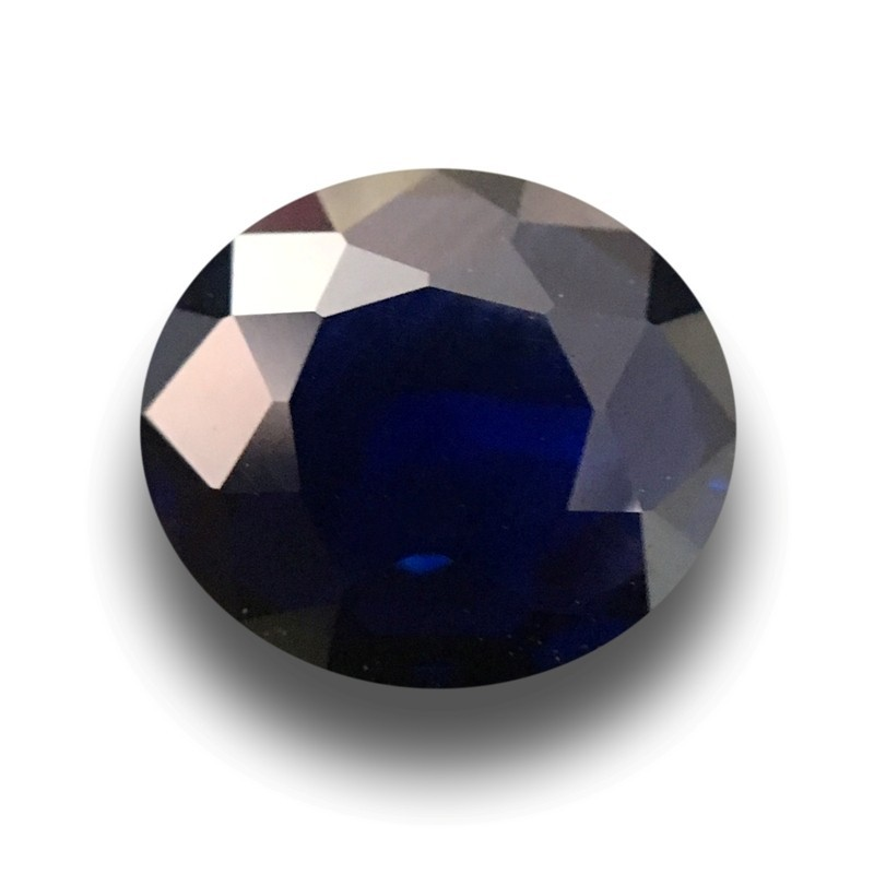 1.17 Carats Natural Blue Sapphire |Loose Gemstone|New Certified| Sri Lanka