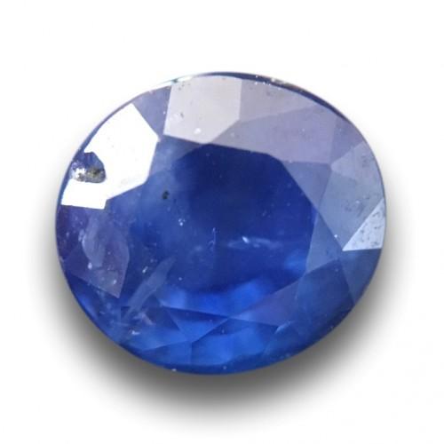 1.57 Carats Natural Blue Sapphire Loose Gemstone Sri Lanka- New