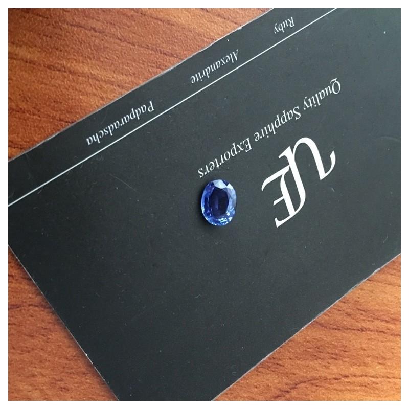 1.20 Carats|Natural Blue Sapphire|Loose Gemstone|Sri Lanka- New