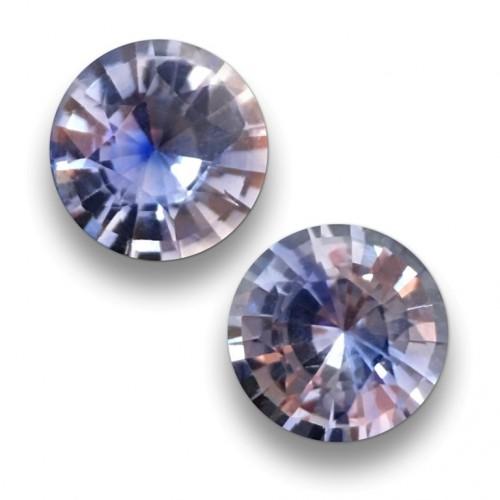 1.09 & 0.99 Carats| Natural Blue sapphire Pair-Sri Lanka-NEW
