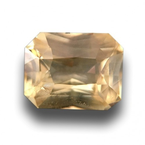 1.14 Carats |Natural Unheated Yellow Sapphire|Loose Gemstone| - New