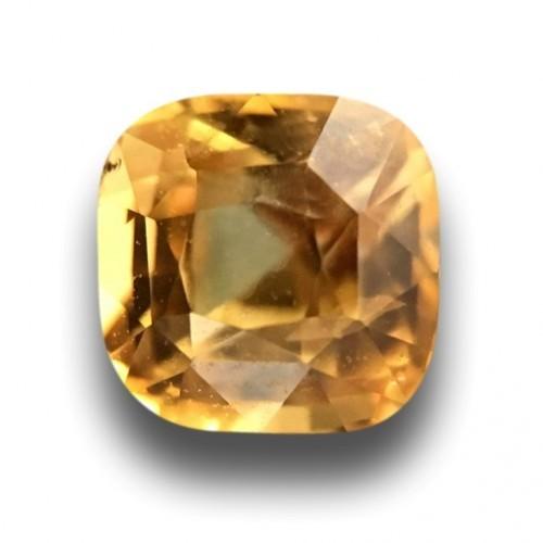 1.09 Carats|Natural Yellow Sapphire|Loose Gemstone|Ceylon - New