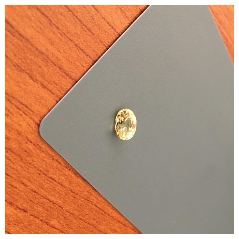 1.22 Carats|Natural Unheated Yellow Sapphire|Loose Gemstone|Ceylon - New