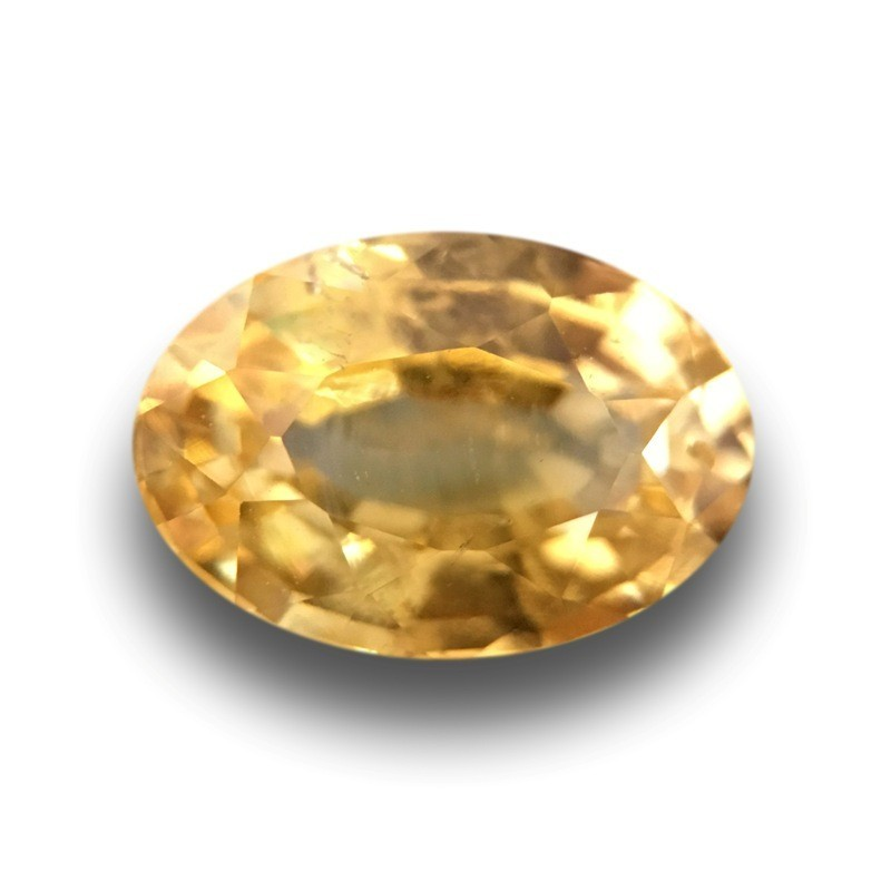 1.06 Carats |Natural Unheated Yellow Sapphire|Loose Gemstone|Ceylon - New