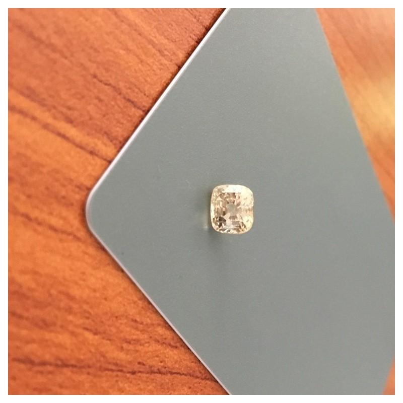 1.59 Carats Natural Unheated Yellow Sapphire Loose Gemstone Ceylon - New