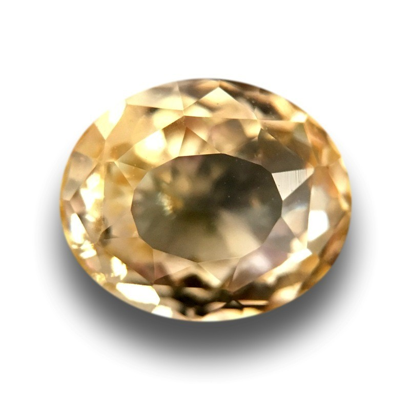1.29 Carats |Natural Unheated Yellow Sapphire| Ceylon - New