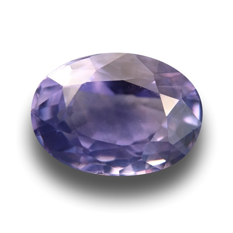 1.9 Carats Natural Unheated violet sapphire|Loose Gemstone|New Certified| Sri Lanka