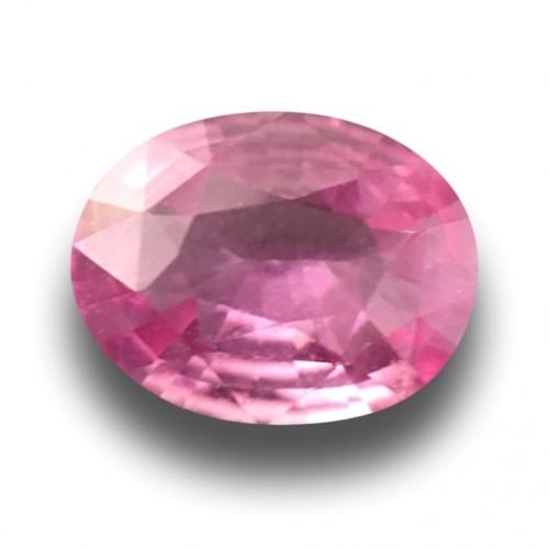 1.16 Carats| Natural Pink Sapphire |Loose Gemstone|New|Srilanka