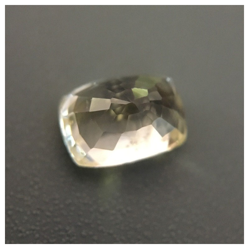1.09 Carats Natural Unheated yellow sapphire|Loose Gemstone|New Certified Sri Lanka