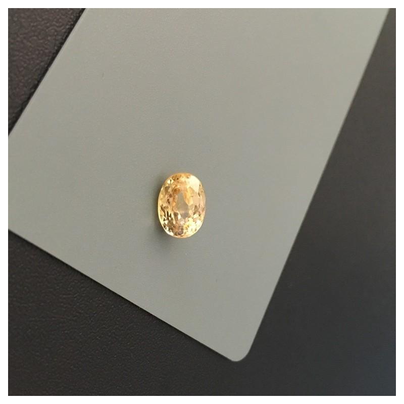 2.47 Carats | Natural Yellow Sapphire|Loose Gemstone|Sri Lanka - New