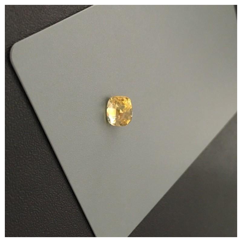 2.02 Carats| Natural Yellow Sapphire|Loose Gemstone|Sri Lanka - New