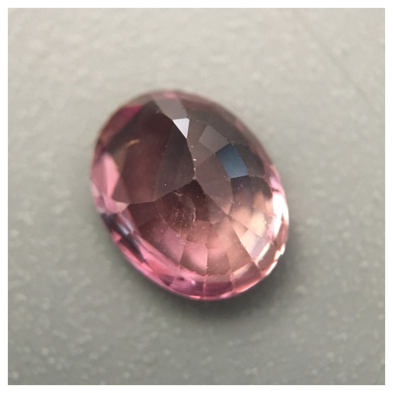 1.37 Carats   Natural Padparadscha Loose Gemstone Sri Lanka -New
