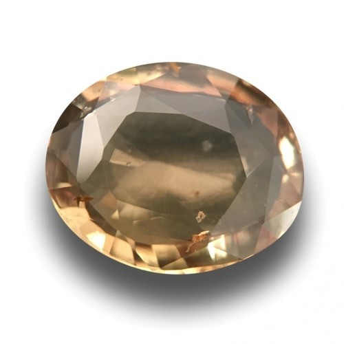 3.65 Carats|Natural Unheated Green Orange sapphire|Srilanak - New