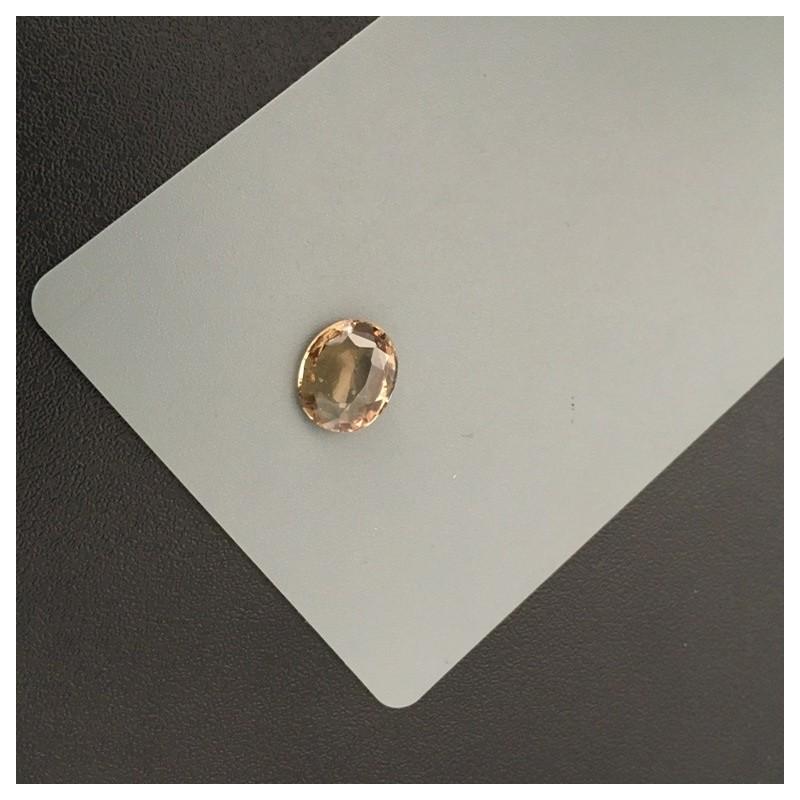 3.65 Carats|Natural Unheated Green Orange sapphire|Srilanak - New