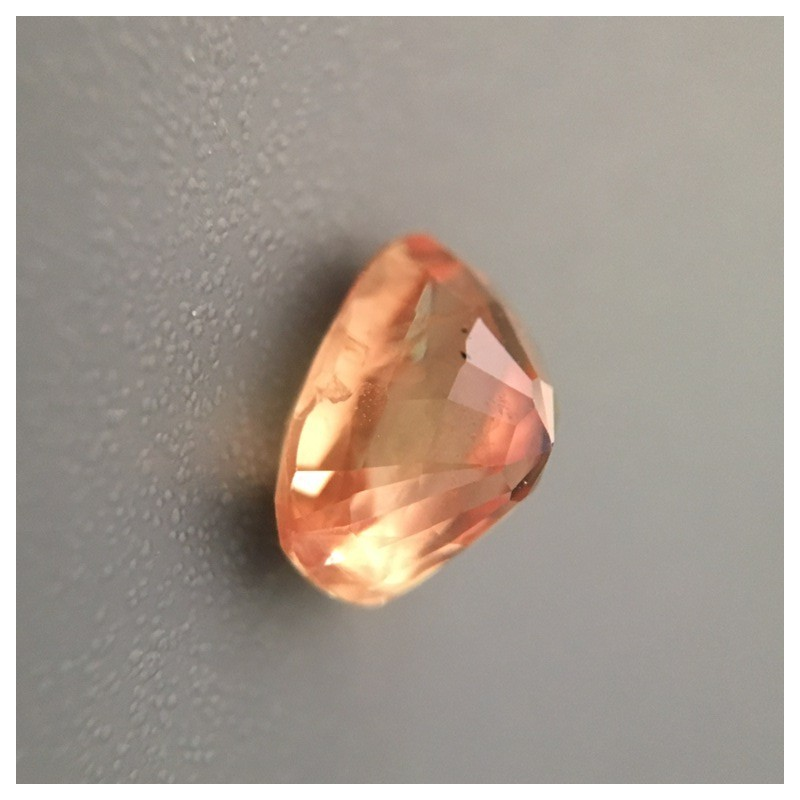 1.33 Carats| Natural Unheated Orange sapphire| Sri Lanka-New