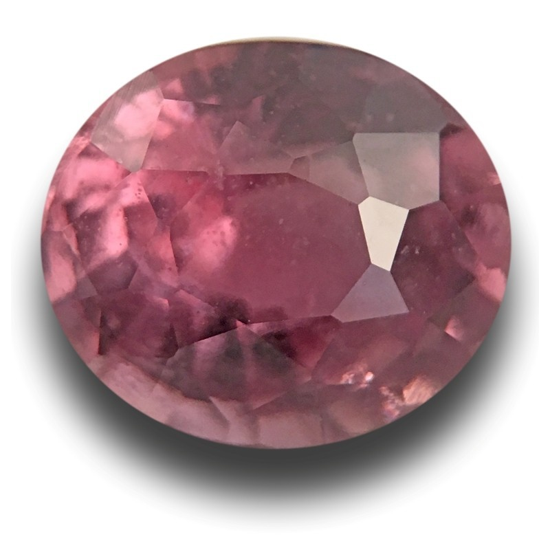 1.42 Carats Natural Pinkish orange sapphire |Loose Gemstone|Certified| Sri Lanka