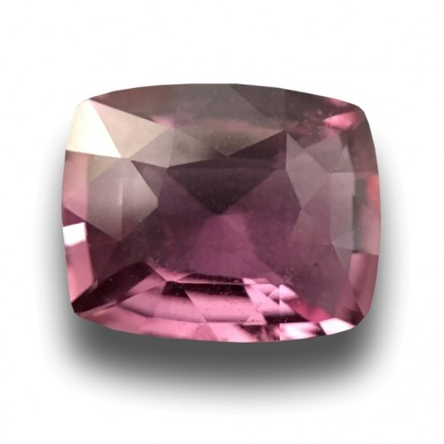 2.13 Carats Natural medium light Pink sapphire |Certified| Sri Lanka