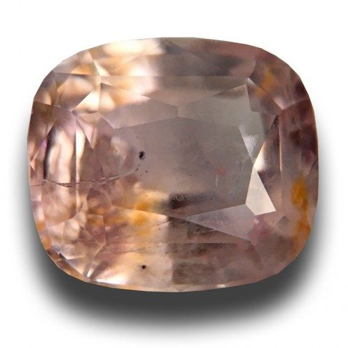2.79 Carats Natural Pink / orange sapphire Loose Gemstone|New Certified| Sri Lanka