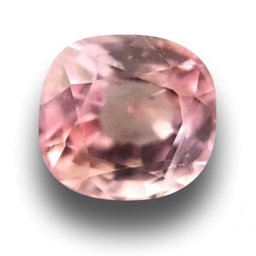 0.88 Carats Natural Unheated Orange Pink sapphire |new Certified|Sri Lanka