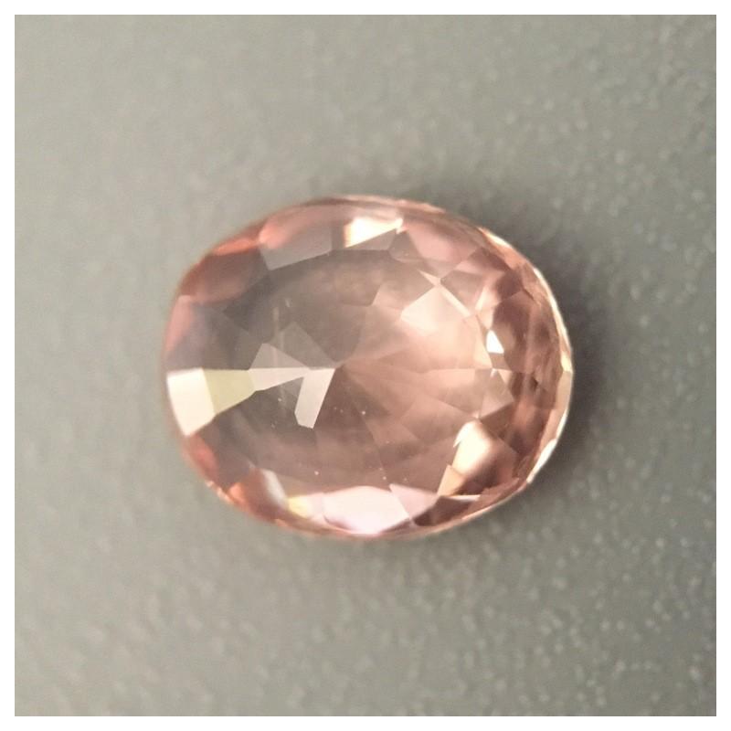 1.03 Carats Natural Padparadscha Loose Gemstone Ceylon-NEW