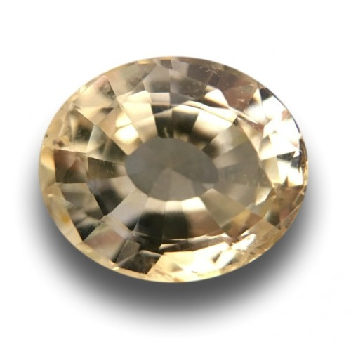 1.67 Carats Natural yellow sapphire |Loose Gemstone|New Certified| Sri Lanka