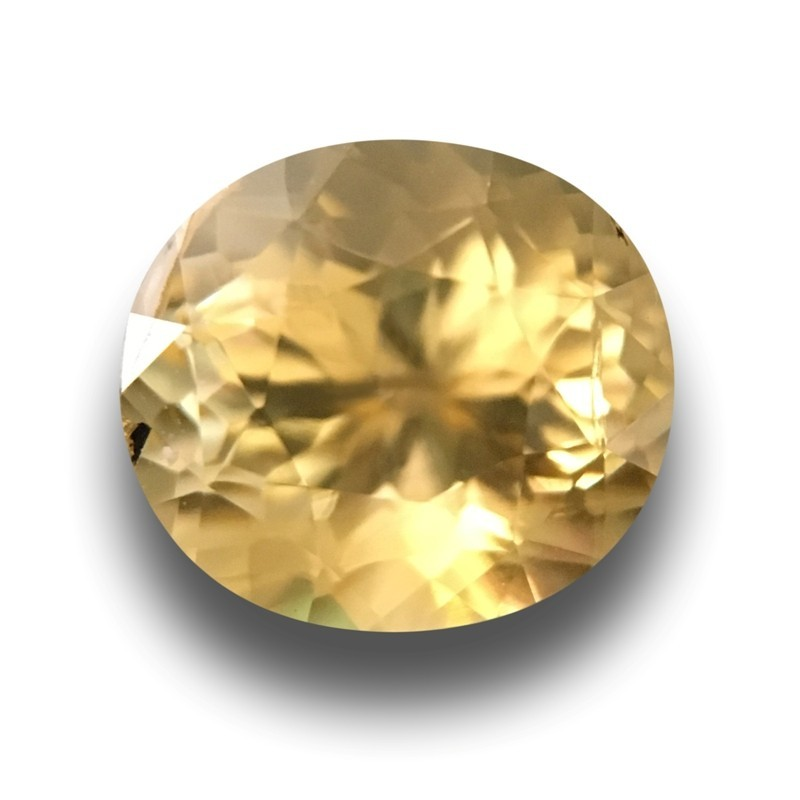1.47 Carats| Natural yellow sapphire |Loose Gemstone|New| Sri Lanka
