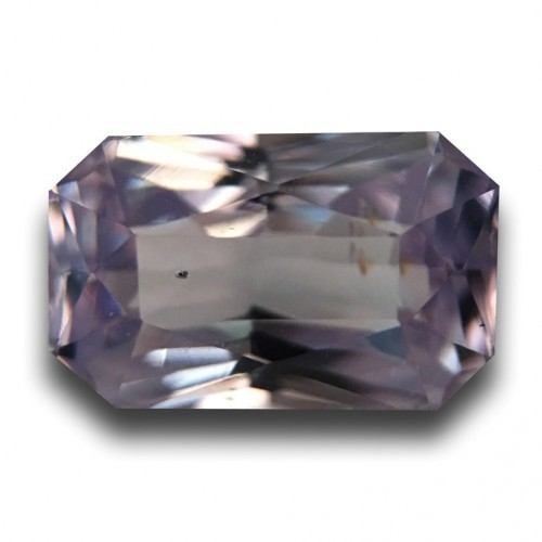 2.09 Carats Natural Unheated Whiteish Pink sapphire Certified|Sri Lanka