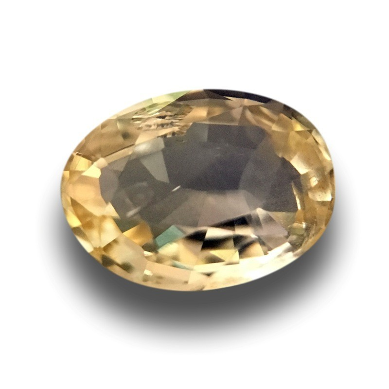 1.04 Carats | Natural Unheated yellow sapphire |Loose Gemstone|New| Sri Lanka